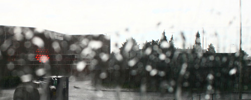 Rainy shapes around Becontree.