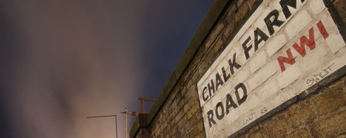 Chalk Farm Road.